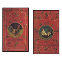 Decorative French Country Wall Plaques