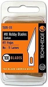 Techni Edge #11 Hobby Blades - 100 Pack