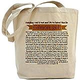 CafePress Unique Design Gilmore Girls Life Lessons Tote Bag - Standard