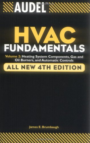 Audel HVAC Fundamentals, Heating System Components, Gas and Oil Burners and Automatic Controls