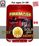FIREMASK Emergency Escape Mask - URBAN SURVIVAL / FIRE PREPPER Hotel Highrise Home Condo Hood Oxygen Mask Smoke Gas Mask Respirator