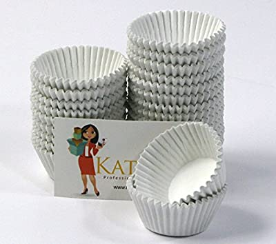Katgely Disposable Mini Cupcake Baking Cups Liners - 500 Per Pack
