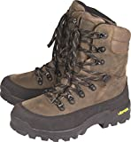 Jack Pyke Leather Waterproof & Breathable High Hunters Boots - Vibram Sole