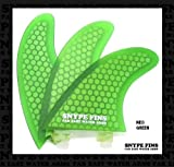 SNYPE FINS/スナイプフィン ハニカムコア(HEX-LITE) FCSフィン【NEO GREEN】