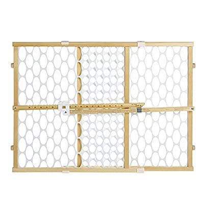 North States Supergate Quick-Fit Oval Mesh Gate