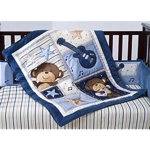 Rockstar Crib Bedding Sets
