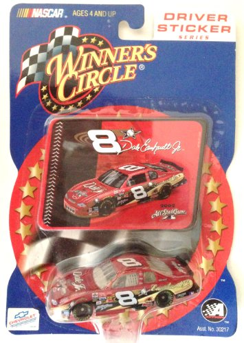 Dale Earnhardt Jr. #8 Chevrolet Driver Sticker Looney Tunes Gossomer Winners Circle Diecast Car