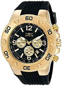 Invicta Men's 20275 Pro Diver Analog Display Japanese Quartz Black Watch