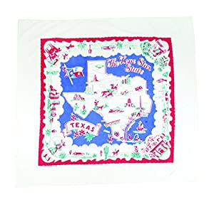 Moda Home Vintage Reproduction Lone Star State of Texas Tablecloth