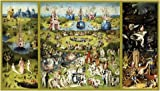 Posters: Hieronymus Bosch Poster Adhesive Photo Wall-Print - The Garden Of Earthly Delights (83 x 47 inches)