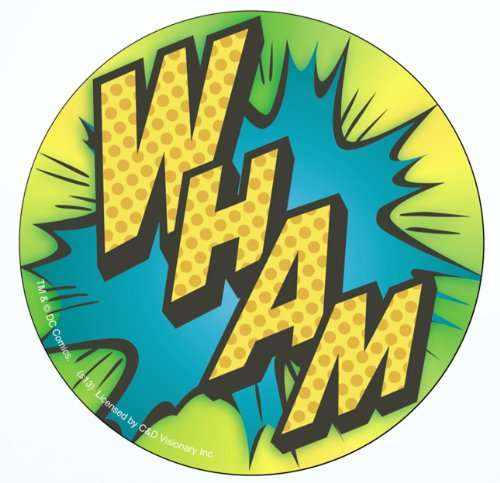 Licenses Products DC Comics Batman Wham Sticker