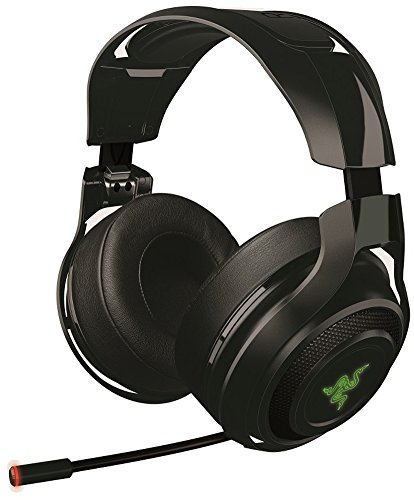 Razer ManO'War Casque de Jeu 7.1 Son Surround 7.1 sans Fil ; Wireless Casque Gaming pour PC, MAC, PS4 & Steam Link