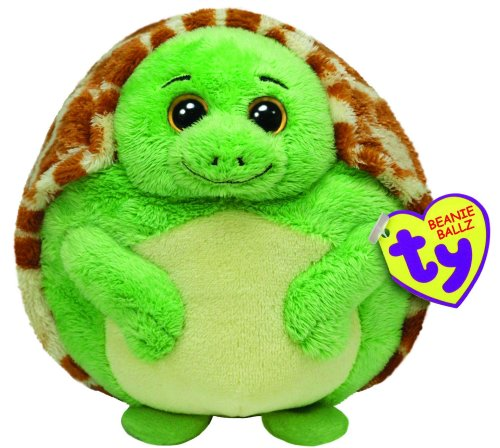 Ty Beanie Ballz Zoom The Turtle (Medium) - 1