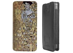"""Premium Smartphone Tasche für das iPhone 5s - """"Adele Bloch Bauer"""" von Gustav Klimt"""