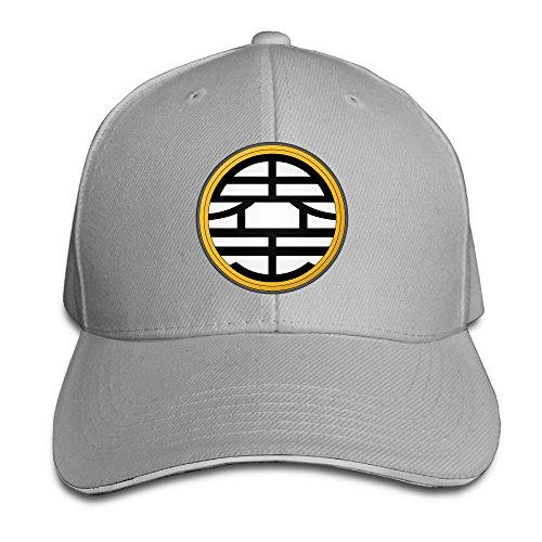 k-fly2-unisex-adjustable-dragon-ball-z-kame-baseball-caps-hat-one-size-ash