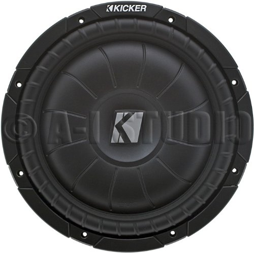 Kicker 12Inch Shallow Mount Subwoofer 4 Ohm