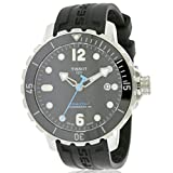Tissot Men's T0664071705702 Seastar Analog Display Swiss Automatic Black Watch
