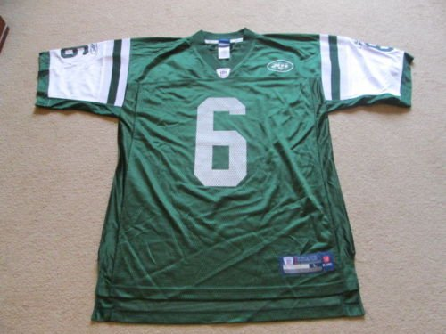 US-Sports New York Jets NFL American Football Jersey - Mark Sanchez #6 Mens Large NWOT