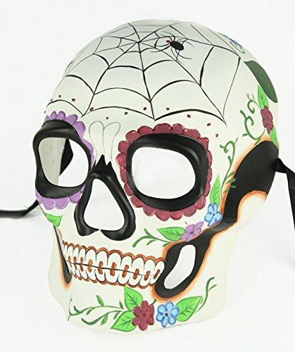 Men's Day of the Dead Dia de los Muertos Large Skull Mask