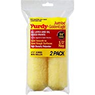 Jumbo Golden Eagle Mini Knit Fabric Roller Cover-2PK 6.5X1/2