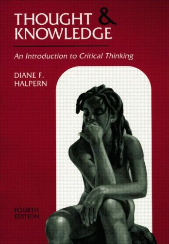 Thought & Knowledge: Thought and Knowledge: An...
