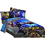 Transformers Alien Machine 72 by 86-Inch Comforter, Twin/Full