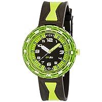 [フリック フラック]FLIK FLAK キッズ腕時計 Full Size(フルサイズ) GET IT IN GREEN !(ゲット・イット・イン・グリーン) ZFCSP014 ボーイズ 【正規輸入品】