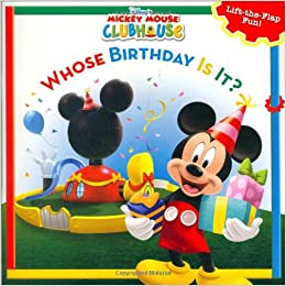 .com: Mickey Mouse Clubhouse Whose Birthday Is It? (Disney's Mickey