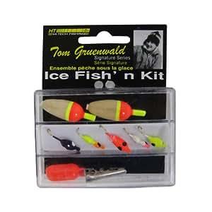 Ht enterprise panfish ice fishing kit 8 for Ice fishing jig kits
