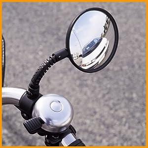 自転車用 自転車用バック : 自転車用バックミラー