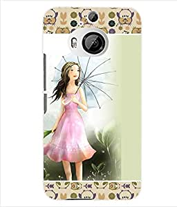 ColourCraft Girly Back Case Cover for HTC ONE M9 PLUS
