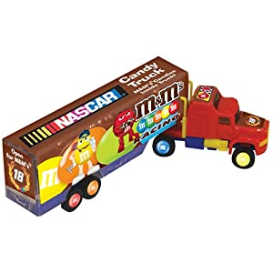 M&M Nascar Candy Trucks