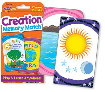 Creation Memory Match Challenge Cards - 1