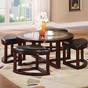 Patia Coffee Table Set Finish: Espresso