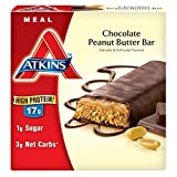 Atkins Meal Bar, Chocolate Peanut Butter, 17 Gram