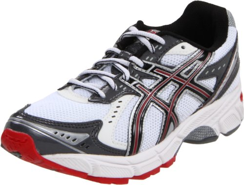 ASICS Kids&#8217; GEL-1160 GS Running Shoe,White/Black/Red,2 W US Little Kid