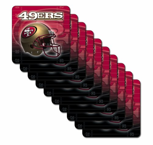 NFL San Francisco 49ers Premium Coaster Set at Amazon.com