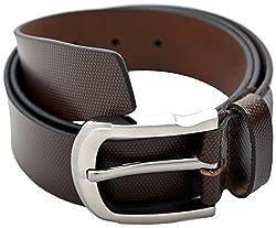 URBAN DISENO Men's Belt (Ud-belt-05_Medium, Brown, Medium)