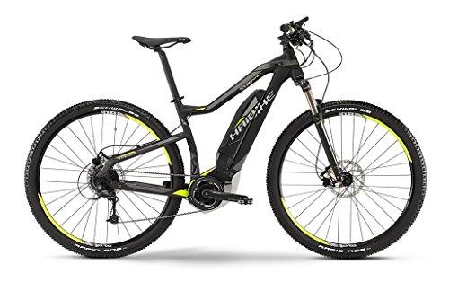 Haibike SDURO HardNine SL E-Bike Elektofahrrad 9-G Deore 11Ah 400Wh E-Mountainbike schwarz/lime/grau matt 2015