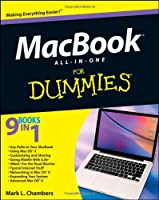 MacBook All-in-One For Dummies Front Cover