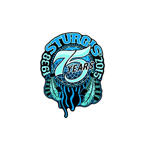 Hot Leathers Official 2015 Sturgis Motorcycle Rally 75th Anniversary womens Dream Catcher Patch