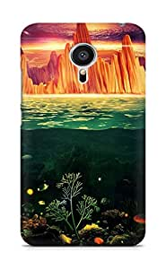 Amez designer printed 3d premium high quality back case cover for Meizu MX5 (Painting under water)
