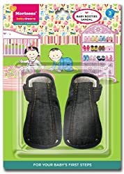 Baby Dreams Baby Booties-Sandal (Denim)
