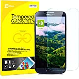 S4 Screen Protector, JETech® Premium Tempered Glass Screen Protector for Samsung Galaxy S4 Galaxy S IV Galaxy SIV i9500