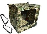 KiloNext 回収不要 エアガン シューティング ターゲット ボックス 消音ネット & 練習用宙吊りセット (40×40)