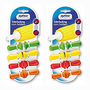 2-PACK Zyliss Interlocking Corn Holders (8 sets of 2)
