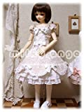 60cmドール用ドレス SDクラウディア アーモンドミルク