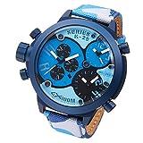[ウェルダー]WELDER 腕時計 クロノグラフ 3タイムゾーン デイトカレンダー K29-8006 メンズ 【並行輸入品】