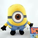 Despicable Me The Movie Minion STEWART ONE-EYE 6 inch (Small) Stuffed Plush Doll Soft Toy