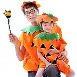 【ディザー】DEZAR親子仲良しセットハロウィンかぼちゃパンプキンお揃い仮装大人用/子供用コスプレ衣装コスチュームCOSPLAY